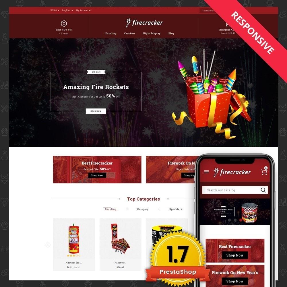 theme - Desporto, Actividades & Viagens - Firecracker Store - 1