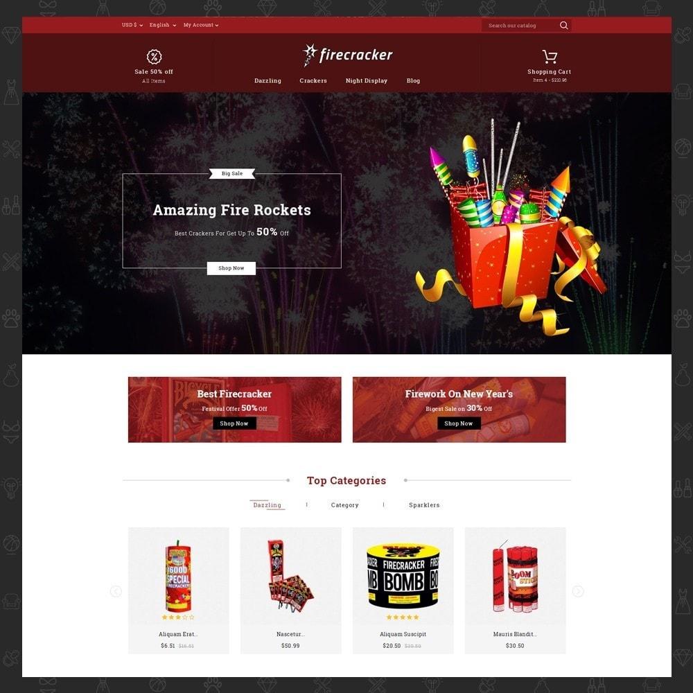theme - Desporto, Actividades & Viagens - Firecracker Store - 2