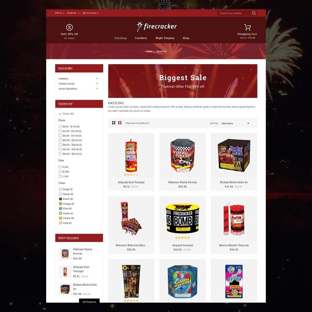 theme - Desporto, Actividades & Viagens - Firecracker Store - 3