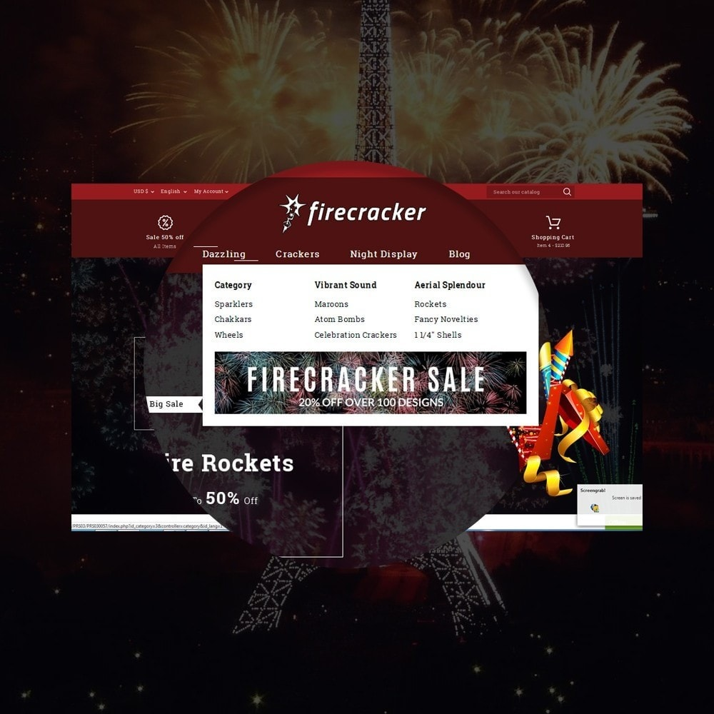 theme - Спорт и Путешествия - Firecracker Store - 11