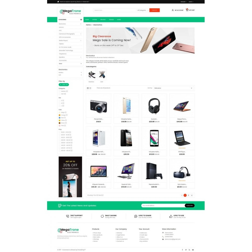 theme - Elettronica & High Tech - Mega Shop Electronics - 3