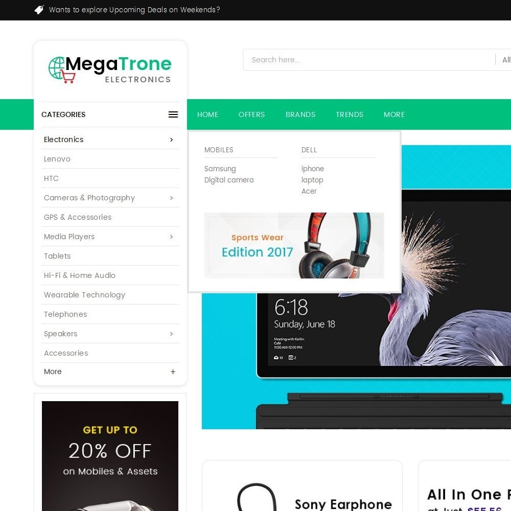 theme - Elettronica & High Tech - Mega Shop Electronics - 9
