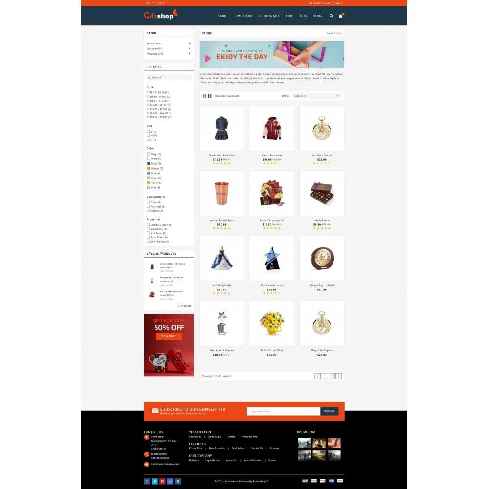 theme - Cadeaux, Fleurs et Fêtes - GiftShop - Mega store - 3