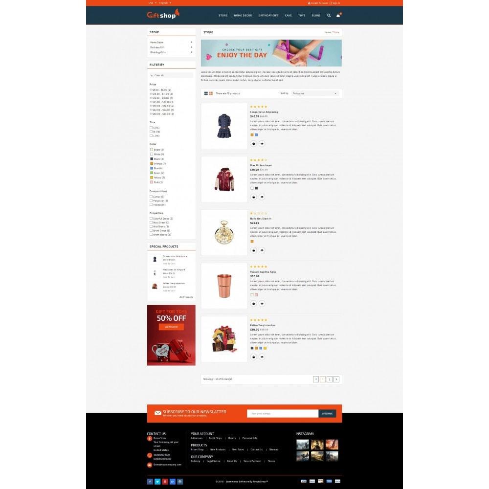 theme - Regalos, Flores y Celebraciones - GiftShop - Mega store - 5