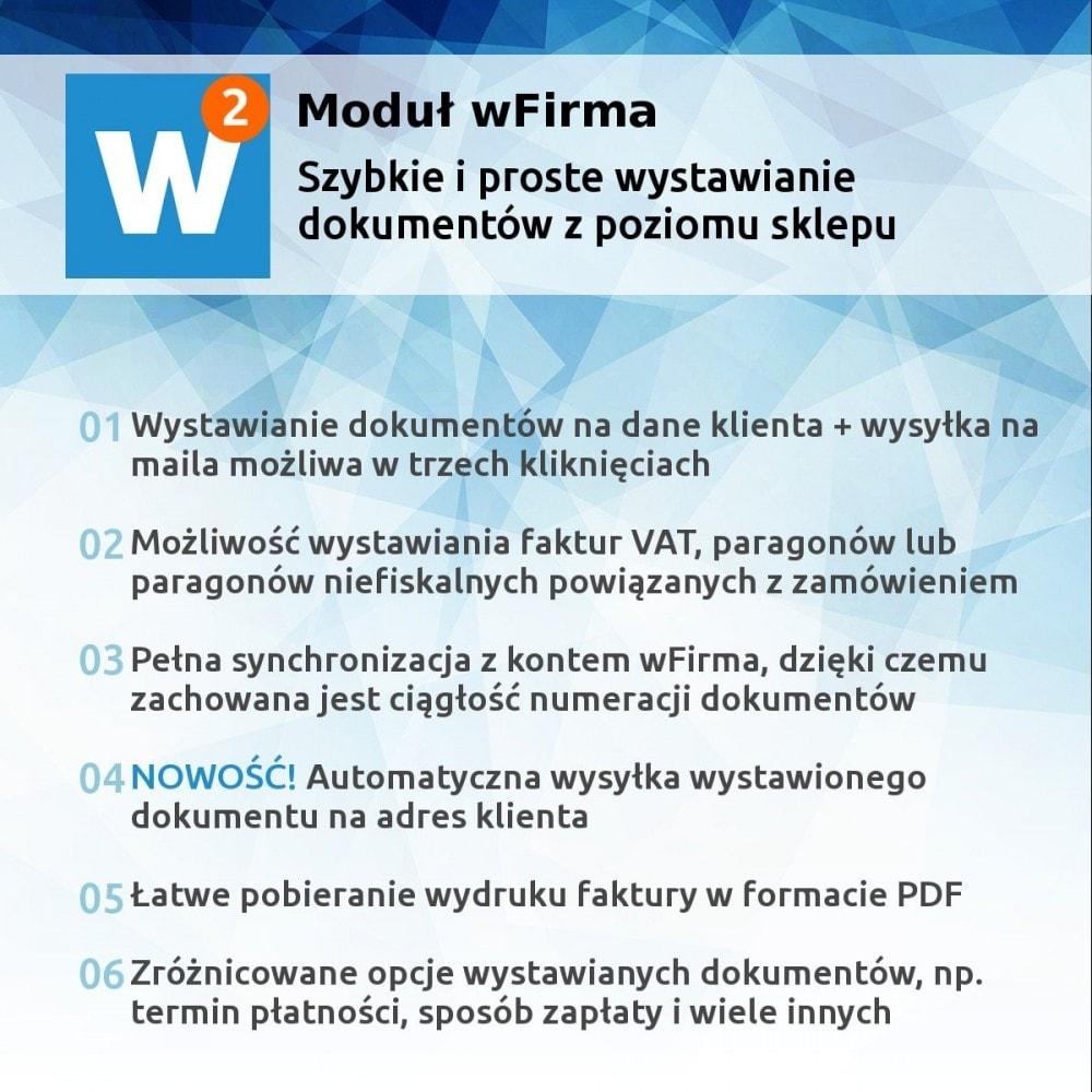 module - Księgowość & Fakturowania - Panel integracji wFirma - faktury i paragony - 1