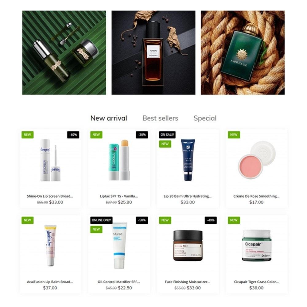 theme - Zdrowie & Uroda - Organica Cosmetics - 3