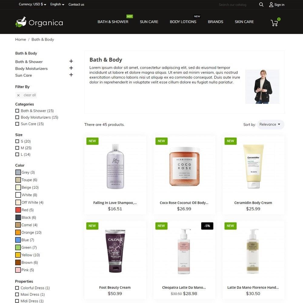theme - Gezondheid & Schoonheid - Organica Cosmetics - 6