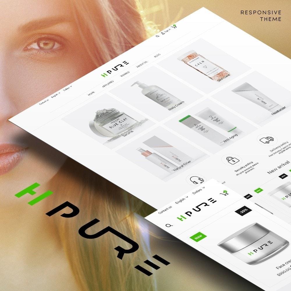 theme - Здоровье и красота - HPURE Cosmetics - 1