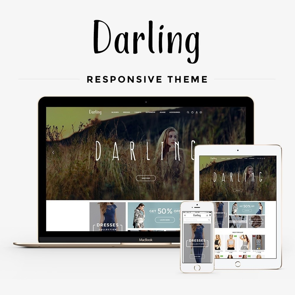 theme - Mode & Schuhe - Darling Fashion Store - 1