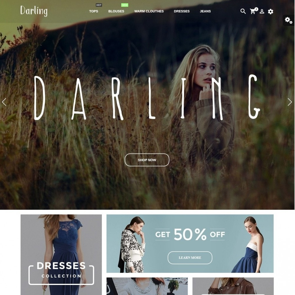 theme - Mode & Schuhe - Darling Fashion Store - 2
