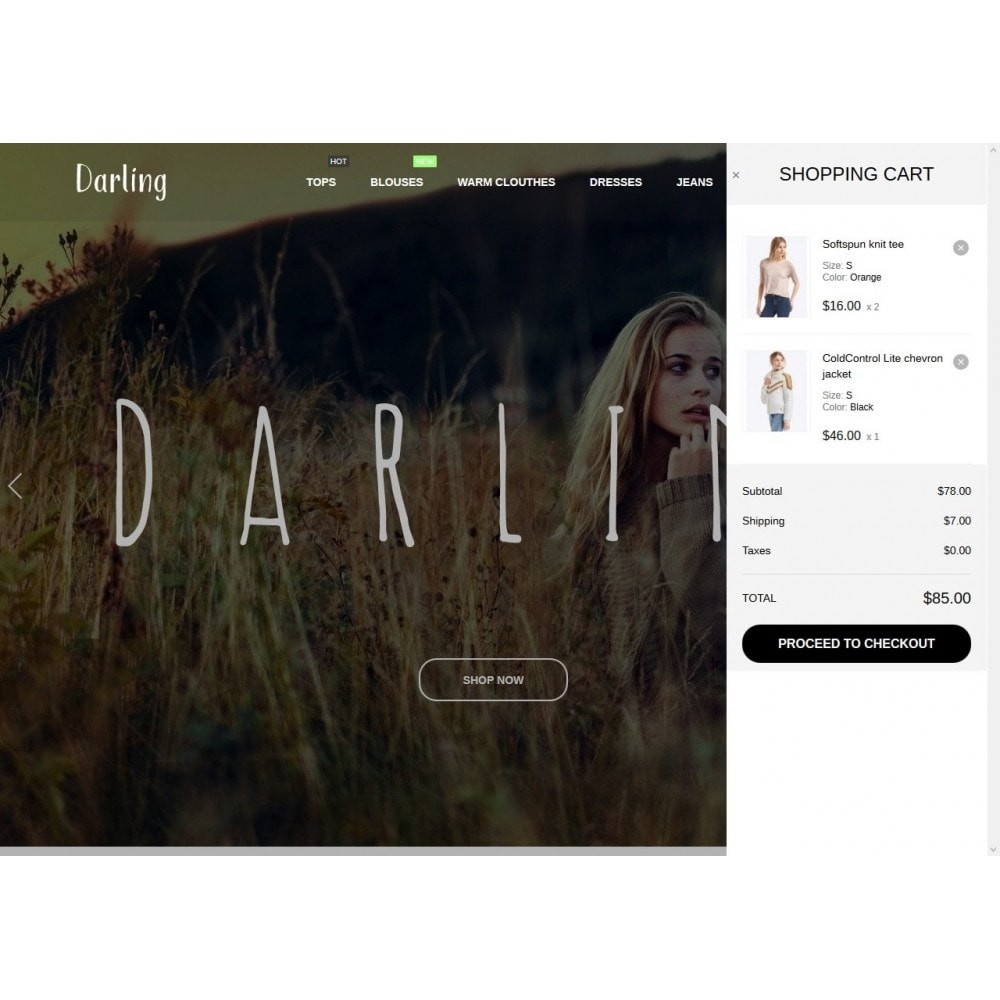 theme - Mode & Schuhe - Darling Fashion Store - 7