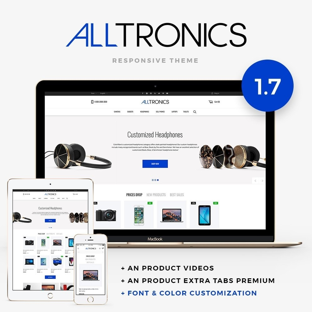 theme - Elettronica & High Tech - Alltronics - High-tech Shop - 1