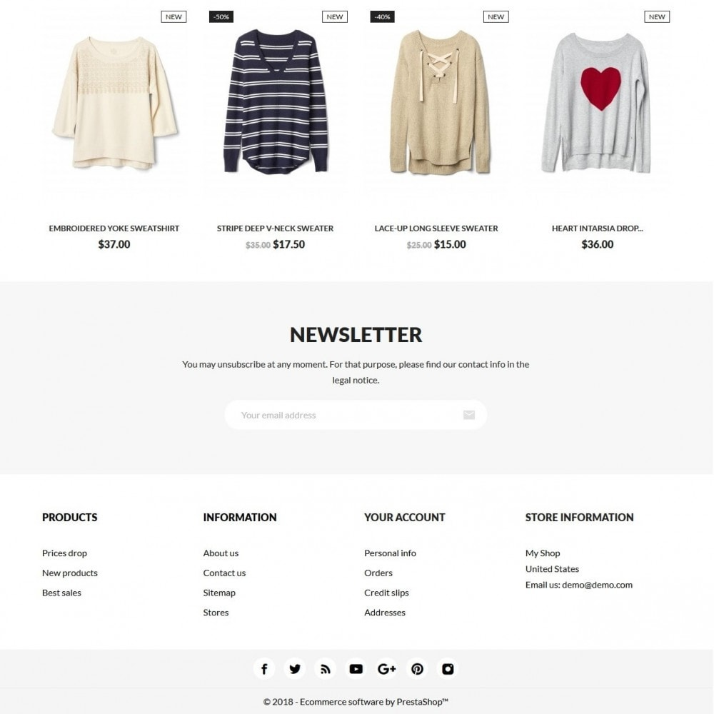 theme - Moda & Calzature - Five Fives Fashion Store - 4