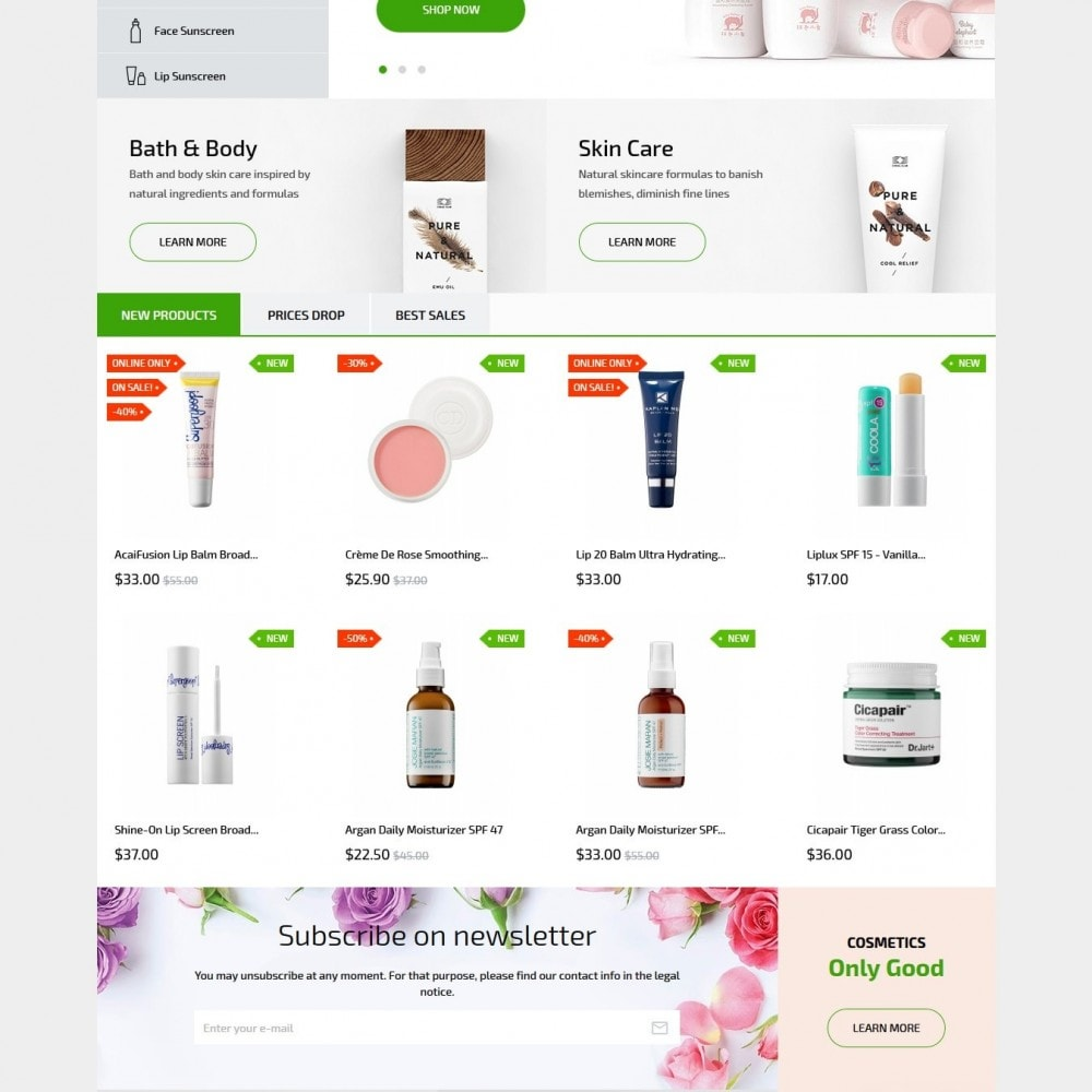 theme - Health & Beauty - Modena Cosmetics - 3