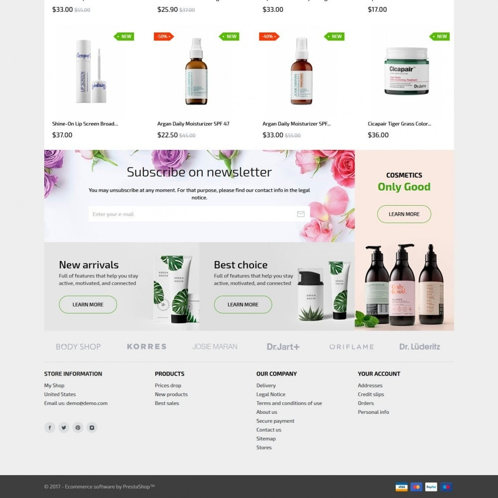 theme - Health & Beauty - Modena Cosmetics - 5