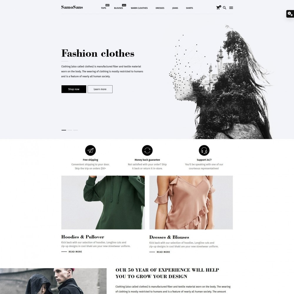 theme - Moda y Calzado - Samo Sans Fashion Store - 2