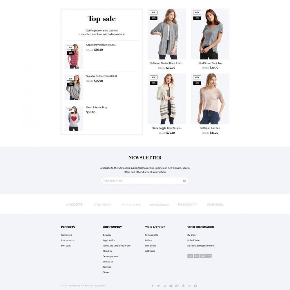 theme - Moda & Calçados - Samo Sans Fashion Store - 4