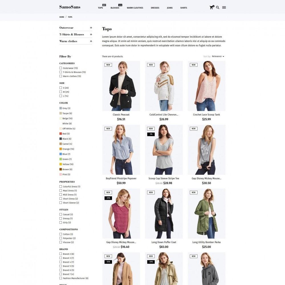 theme - Moda & Calçados - Samo Sans Fashion Store - 5