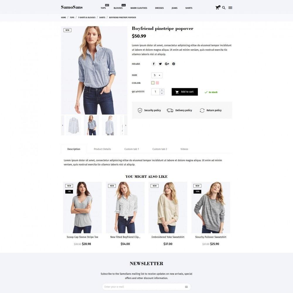 theme - Moda y Calzado - Samo Sans Fashion Store - 9