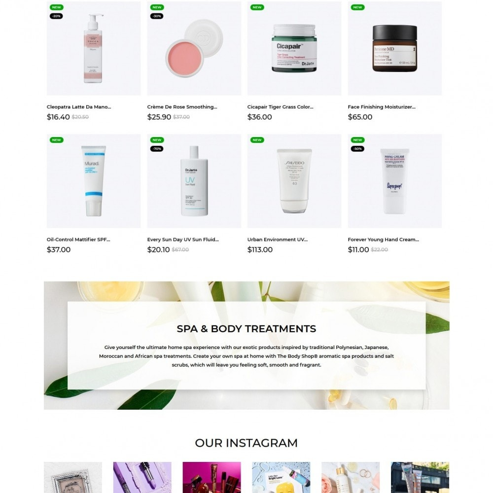 theme - Health & Beauty - Kikki Cosmetics - 3