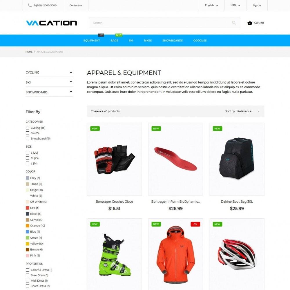 theme - Sport, Loisirs & Voyage - Vacation - 5