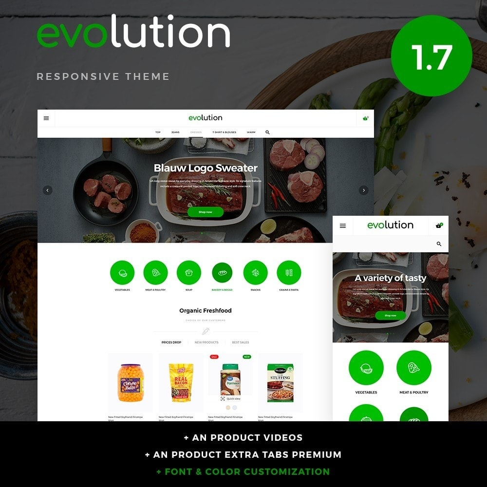 theme - Eten & Restaurant - Evolution - 1