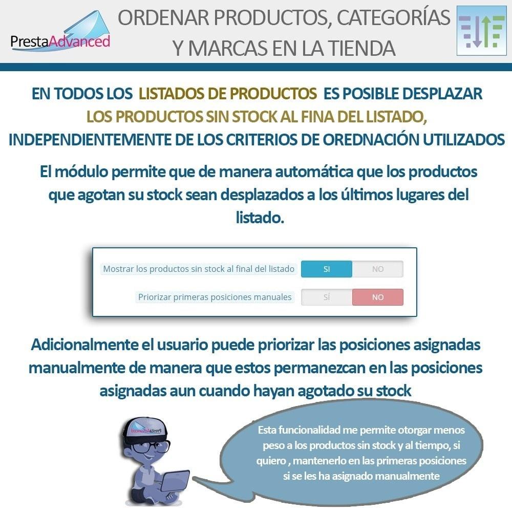 module - Personalización de la página - Ordenar productos, categorías y marcas en la tienda - 12