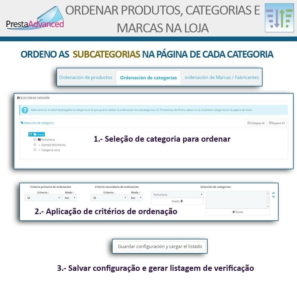 module - Personalização de página - Ordenar produtos, categorias e marcas na loja - 13