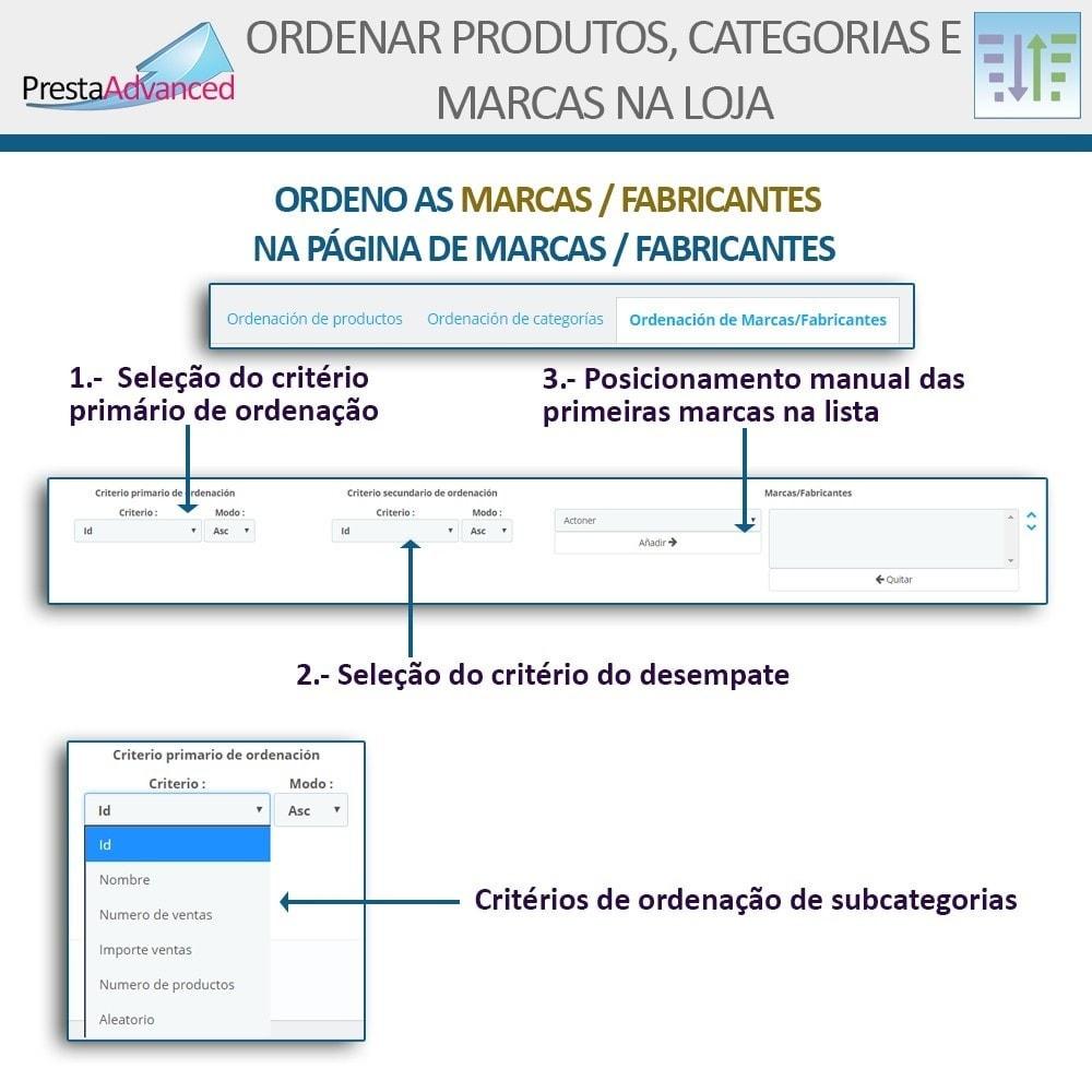 module - Personalização de página - Ordenar produtos, categorias e marcas na loja - 16