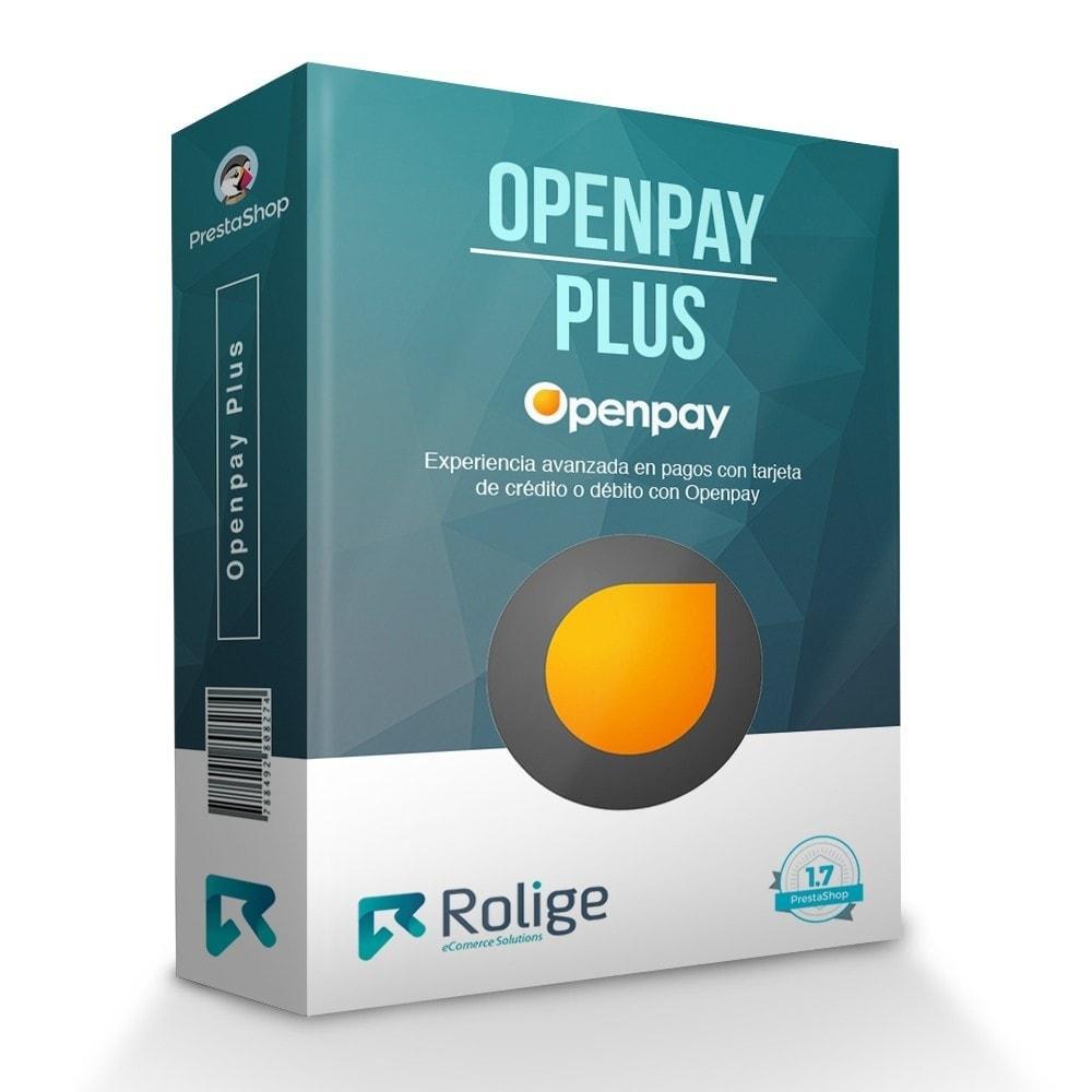 module - Pago con Tarjeta o Carteras digitales - Openpay Plus - 1