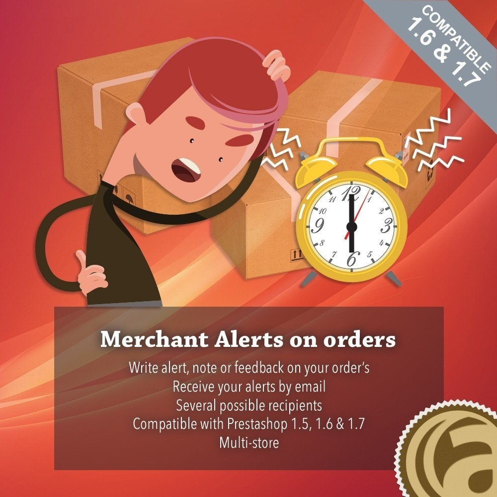 module - Order Management - Merchant alerts on orders - 1
