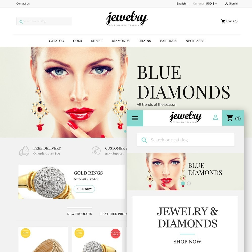 theme - Jewelry & Accessories - Jewelry Shop - 1