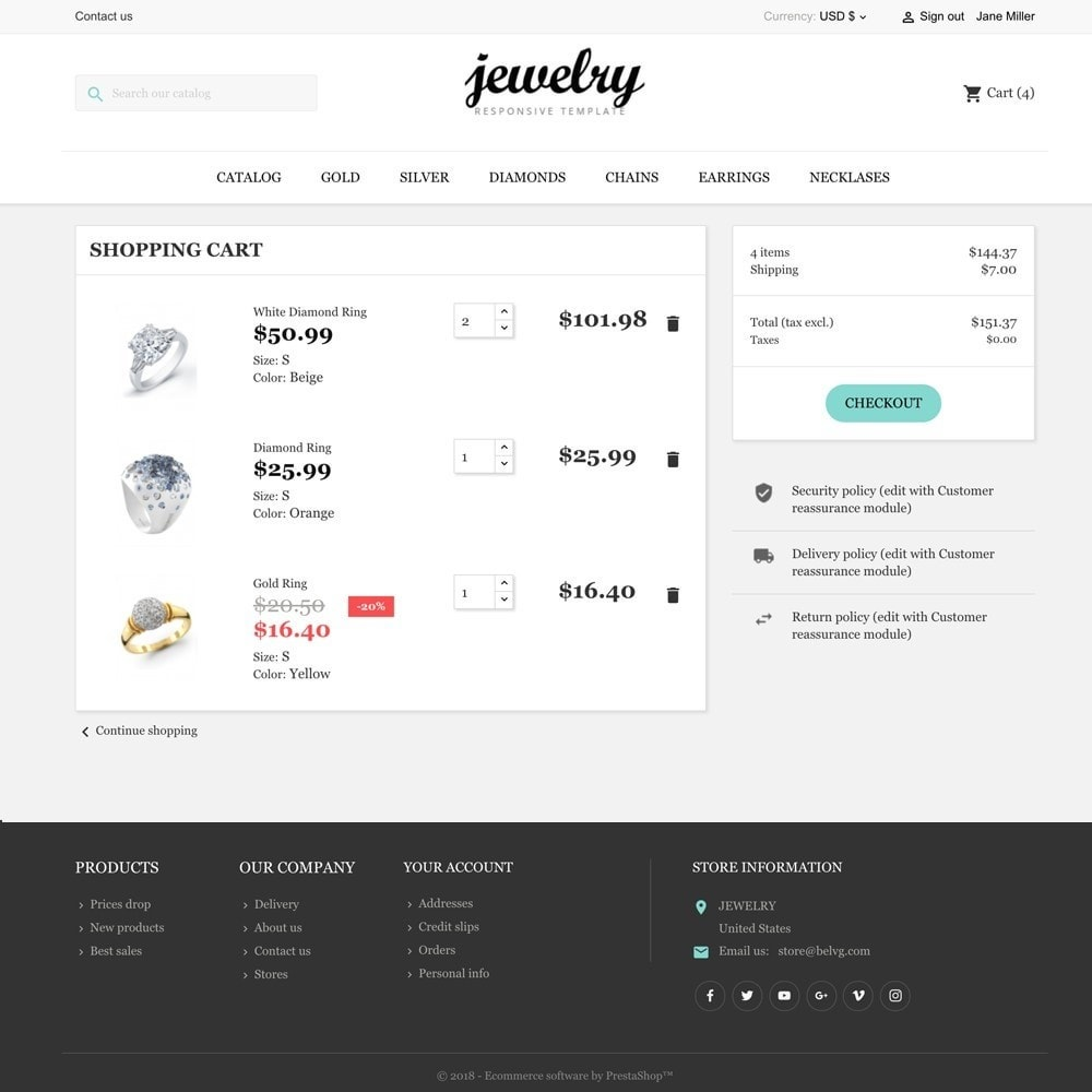 theme - Jewelry & Accessories - Jewelry Shop - 6