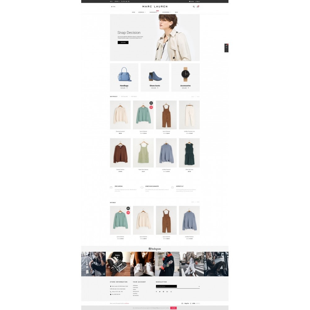 theme - Moda y Calzado - Marc Lauren - 2