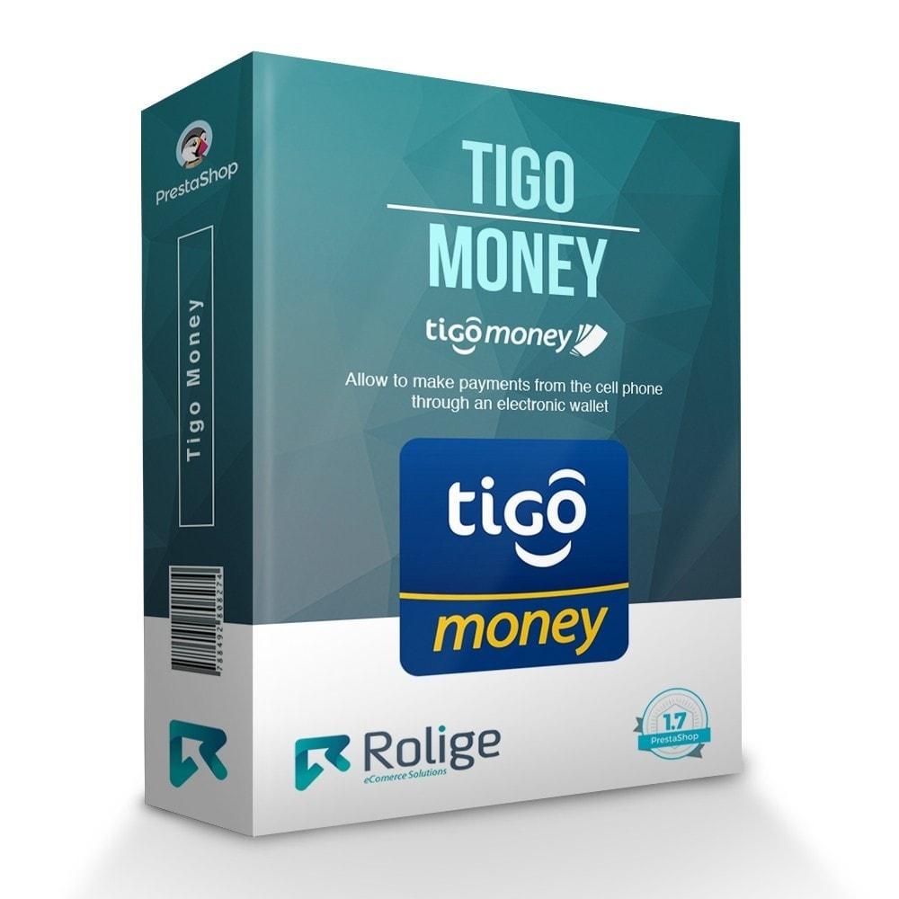 module - Pagamento con Carta di Credito o Wallet - Tigo Money Paraguay - 1