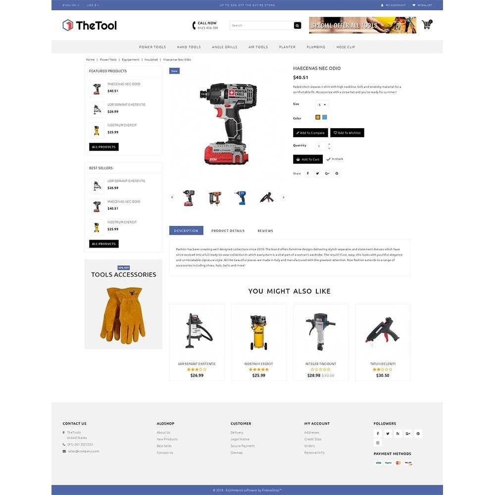 theme - Automotive & Cars - TheTools Store - 5