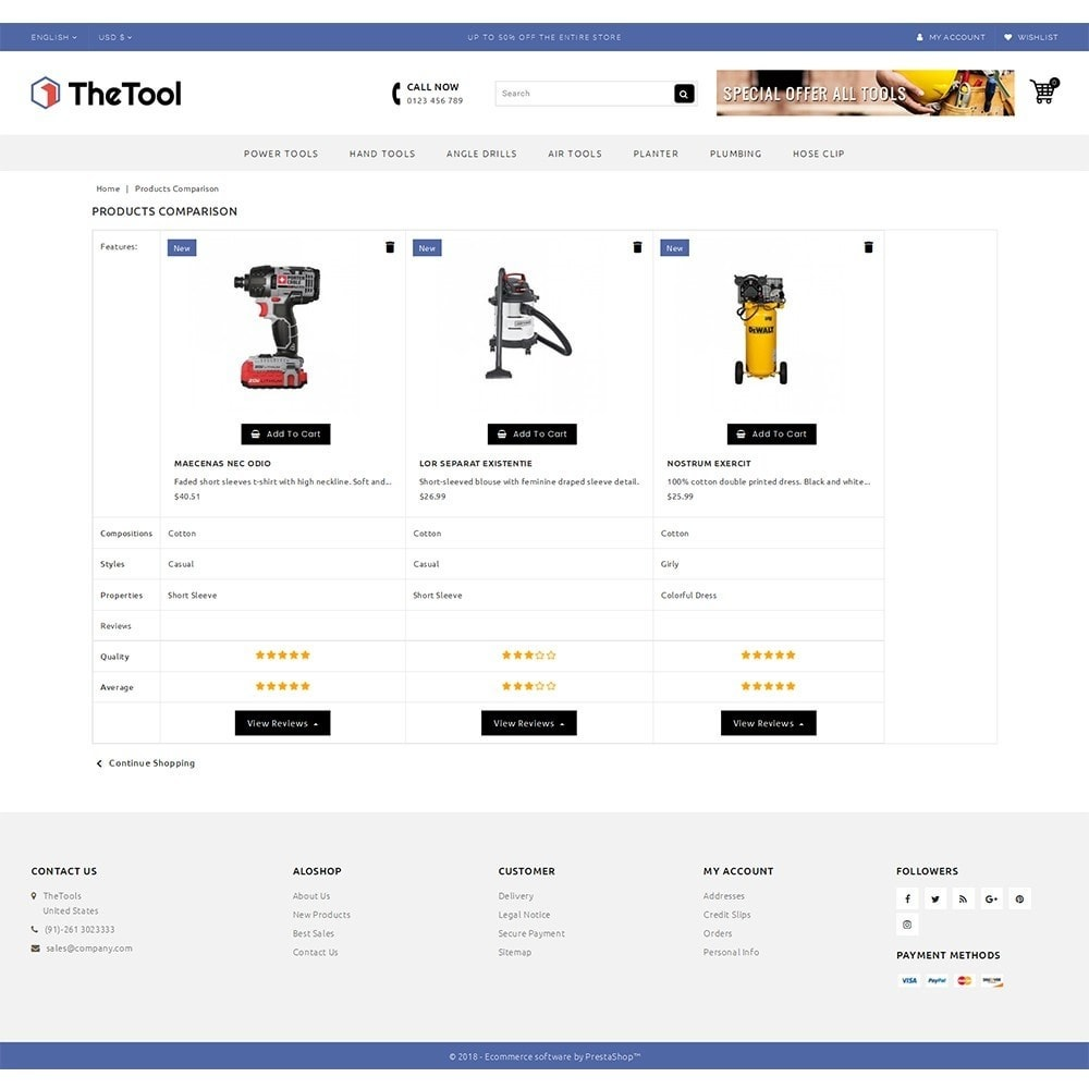 theme - Automotive & Cars - TheTools Store - 9