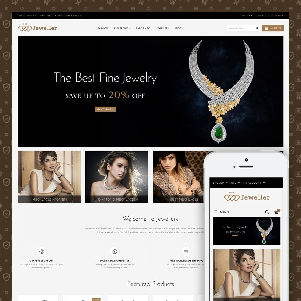 theme - Jewelry & Accessories - Jeweller Store - 1