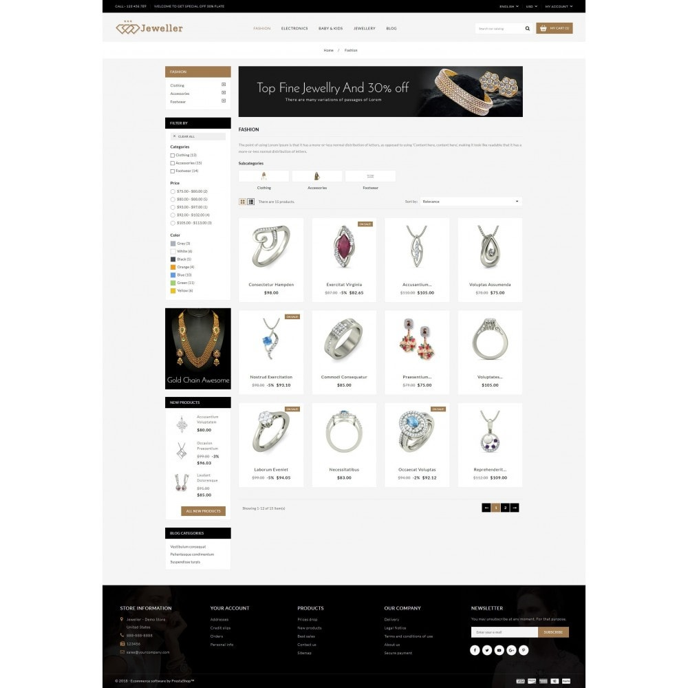 theme - Jewelry & Accessories - Jeweller Store - 3