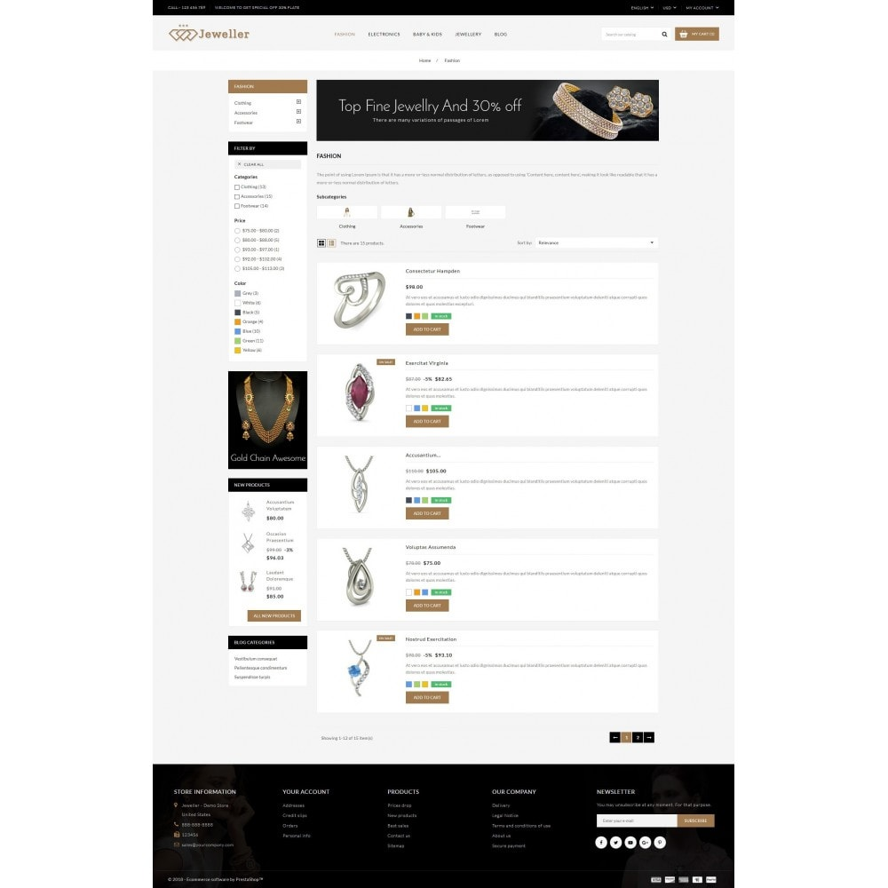 theme - Jewelry & Accessories - Jeweller Store - 4