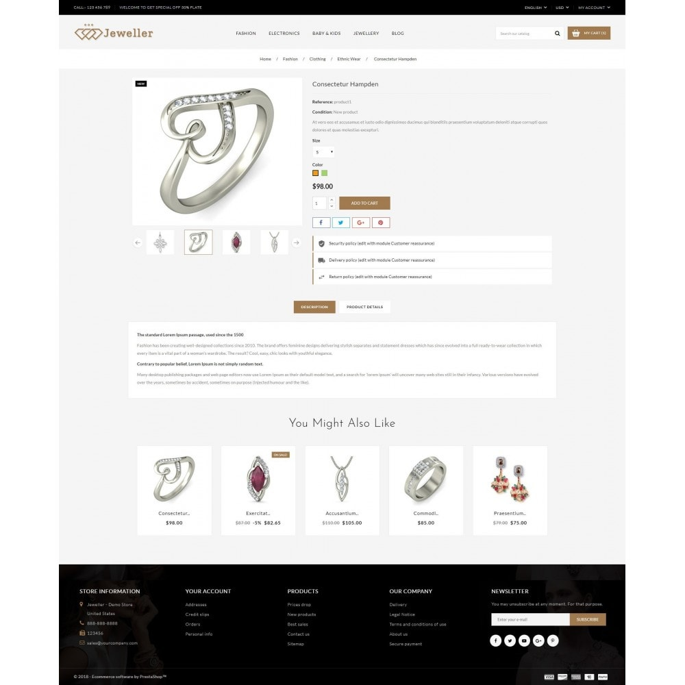 theme - Jewelry & Accessories - Jeweller Store - 5
