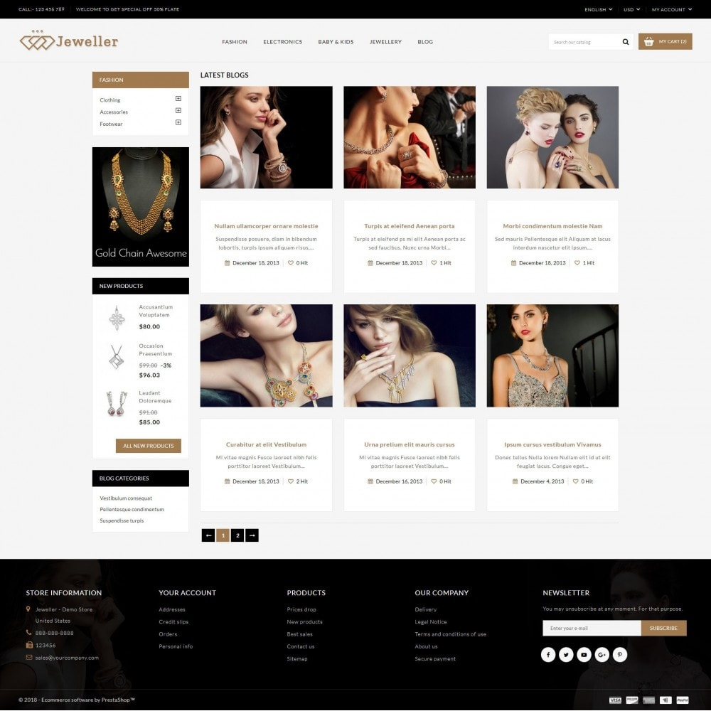 theme - Jewelry & Accessories - Jeweller Store - 9