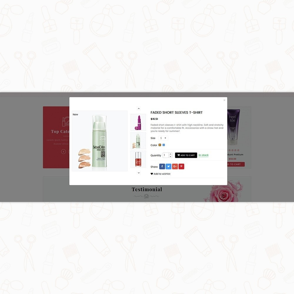 theme - Salud y Belleza - Beauty Queen Store - The Natural Cosmetics - 7