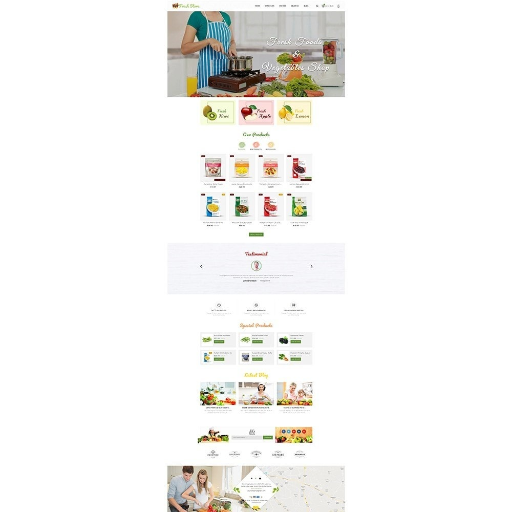 theme - Lebensmittel & Restaurants - Fresh Vegetables Store - 2