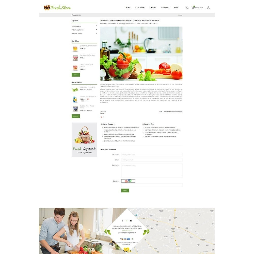 theme - Lebensmittel & Restaurants - Fresh Vegetables Store - 9