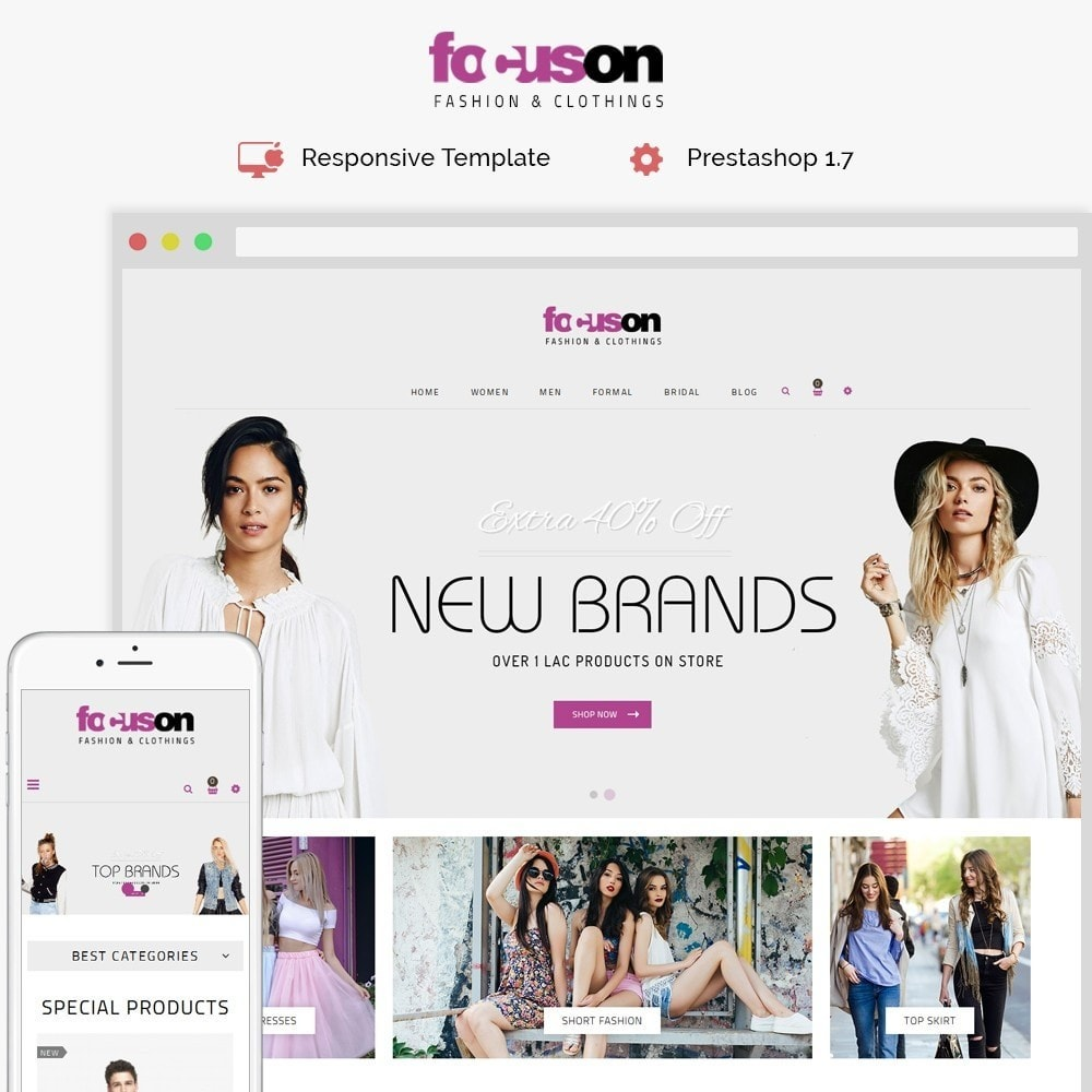 theme - Moda y Calzado - Focuson Fashion Store - 1