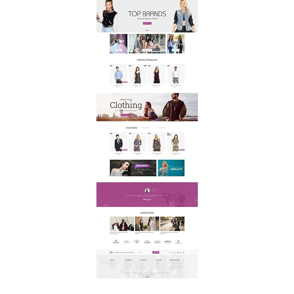 theme - Moda y Calzado - Focuson Fashion Store - 2