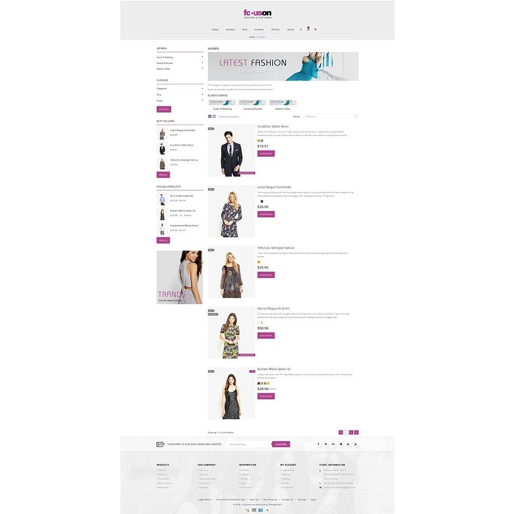 theme - Moda y Calzado - Focuson Fashion Store - 4