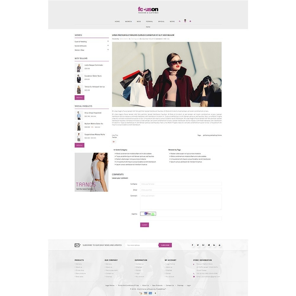 theme - Moda y Calzado - Focuson Fashion Store - 9