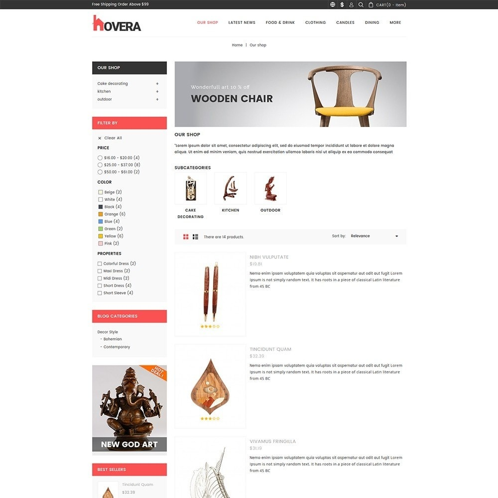 theme - Casa & Jardins - Hovera Home Store - 5